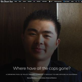 In The News – Where have all the cops gone?