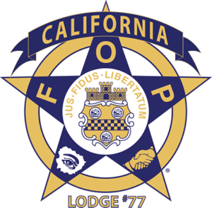 California FOP Lodge #77 Logo