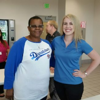 CSLEA and CHP-PSDA Greet Dispatchers at Los Angeles Communications Center