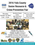2016 Yolo County Senior Resource & Crime Prevention Fair