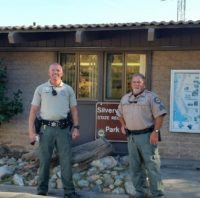 CSLEA Membership Visits Rangers at Silverwood State Park