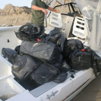 State Park Rangers Spot Abandoned, Marijuana-filled Vessel at Calafia State Park More than a ton of marijuana on board