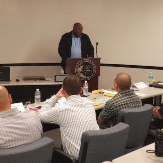 ASA-DOJ President Welcomes 8 New Special Agents at DOJ Training Center in Rancho Cordova