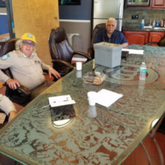 CSLEA Member Services Checks in with CCC Conservationists