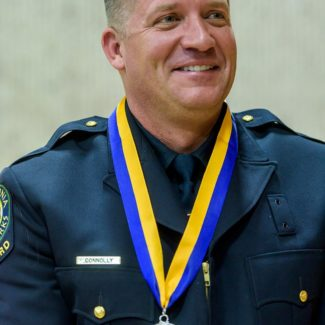 Lifeguard Chris Connolly Receives Medal of Valor for Saving Surfer's Life