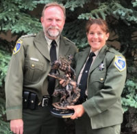 CSLEA-RPPOA Member Nicole Kozicki Recognized Nationally as Wildlife Officer of the Year