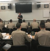 CSLEA Visits Cadet Rangers at Academy in Butte