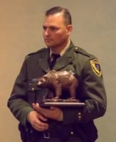CSLEA - RPPOA Member Awarded California's Wildlife Officer of the Year