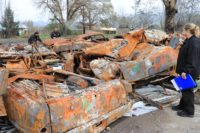 DMV Investigators Work to Identify Thousands of Vehicles Destroyed in Nor Cal Wildfires
