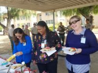 CSLEA Members at MSH Lunch with Union Representatives