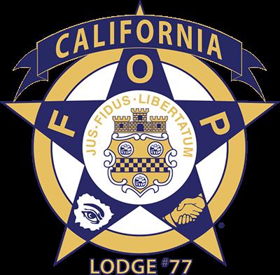 California FOP Lodge #77 Logo