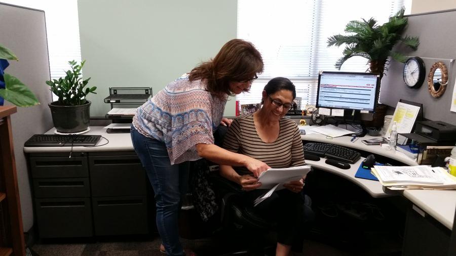 CSLEA Members & ABC Licensing Representatives Donna Hogan & Graciela Green