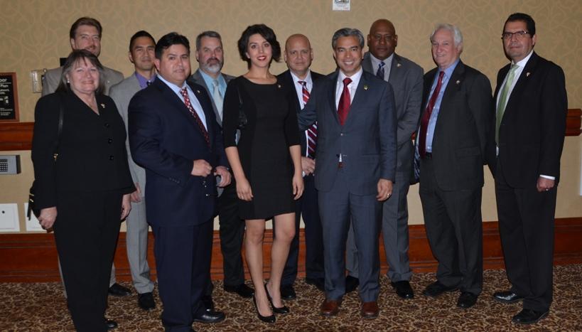 CSLEA Board Members and Assembly Member Rob Bonta