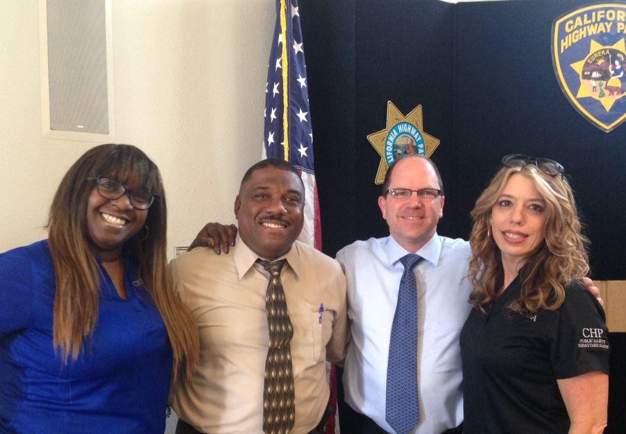 From left to right: GGCC Division Representative  Vicki Morris, Assistant Commissioner Avery Browne, GG Division Chief Paul Fontana, GGCC Division Representative Gina Walls