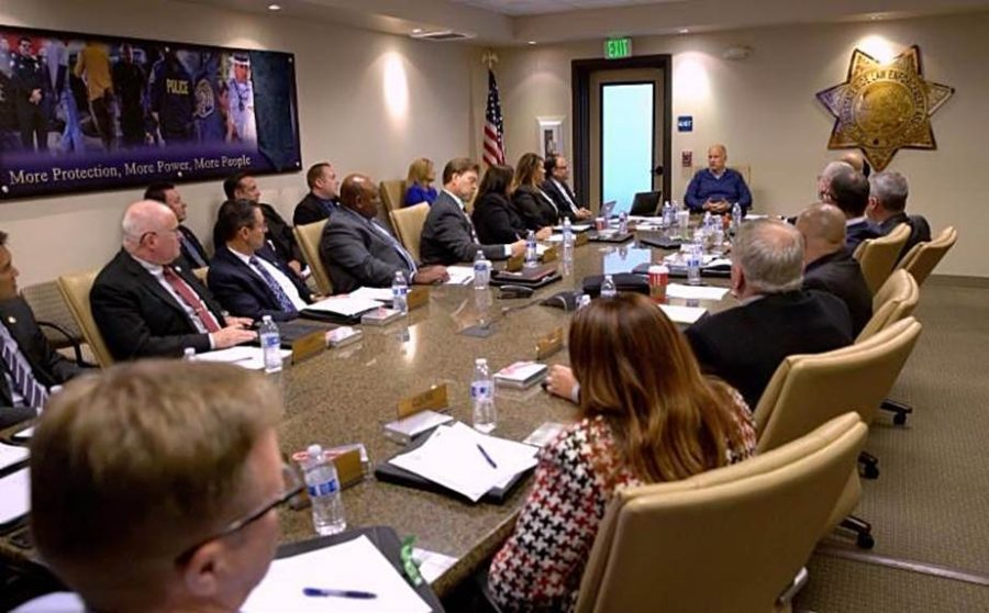 Governor Jerry Brown Speaks to CSLEA Board of Directors
