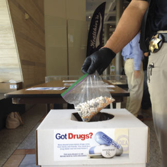 CSLEA / CAFDI Members Assist with in Collecting Unused & Unwanted Prescription Drugs 10th National Prescription Drug Take-Back Day