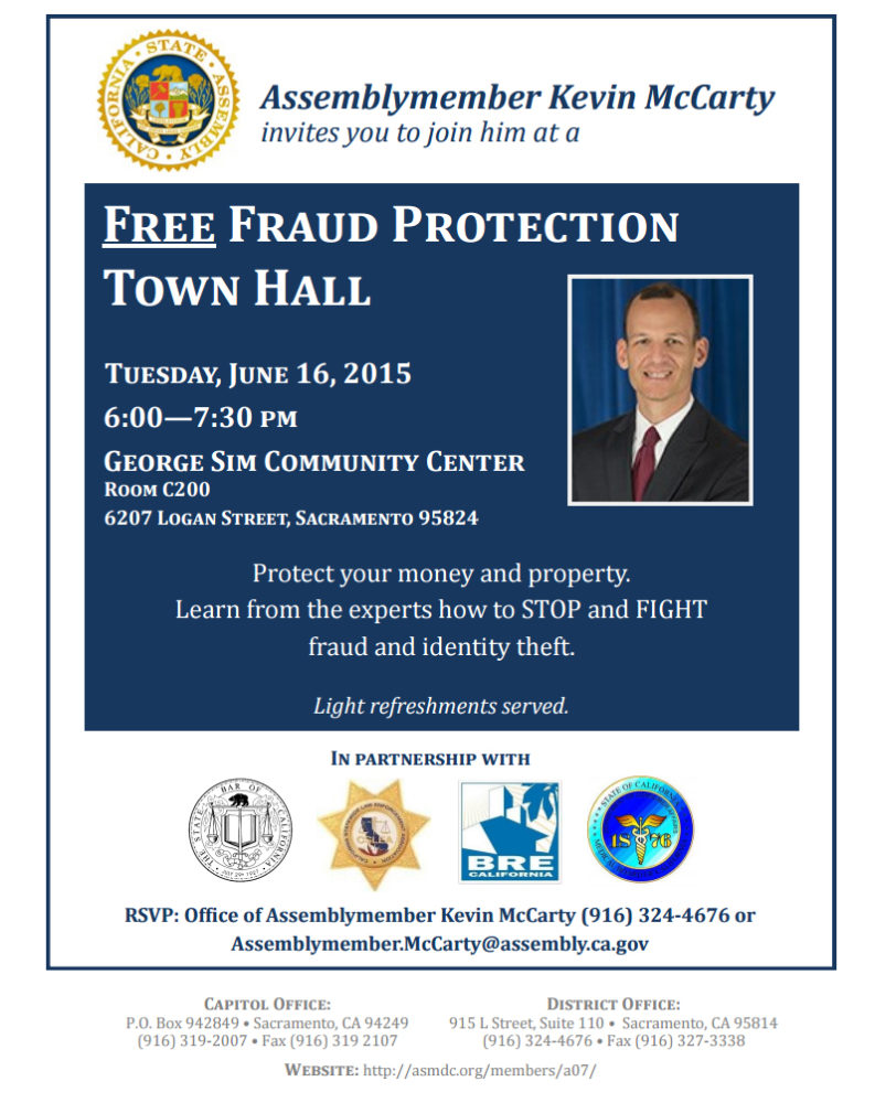 CSLEA To Join Assemblymember Kevin McCarty at Fraud
