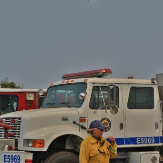 Hearst Castle Firefighters Are Prominent in Chimney Fire Fight
