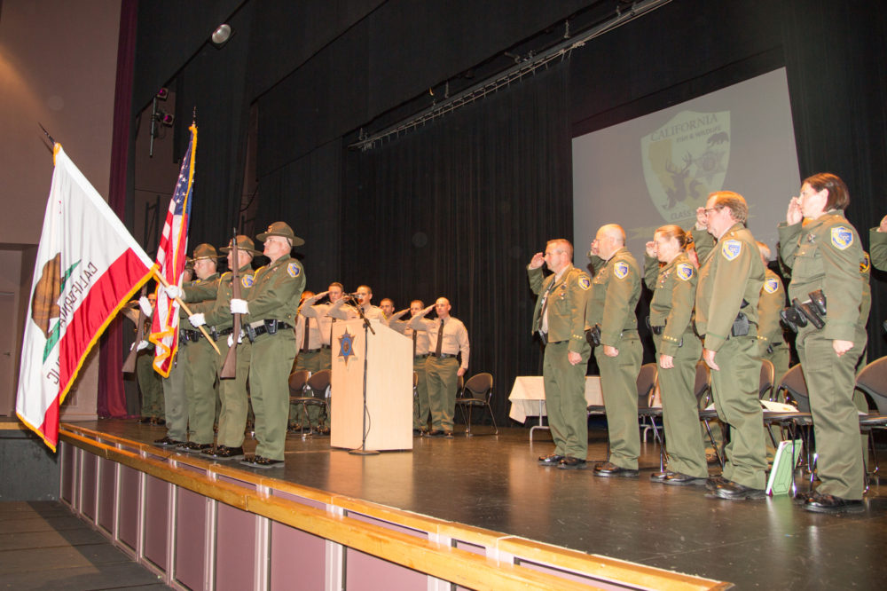 Congratulations to CDFW's 14 New Officers