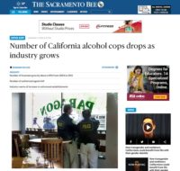 In The News - Number of California alcohol cops drops as industry grows