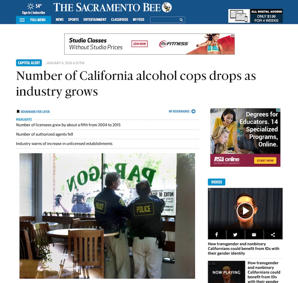 In The News - Page 4 - California Statewide Law Enforcement Association