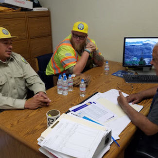 CSLEA Member Services Visits Conservationists in Stockton