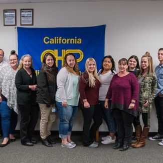 CSLEA and CHP-PSDA Welcome 12 New Members at Academy in West Sacramento