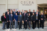 Attorney General Xavier Becerra Special Guest at CSLEA Board Meeting