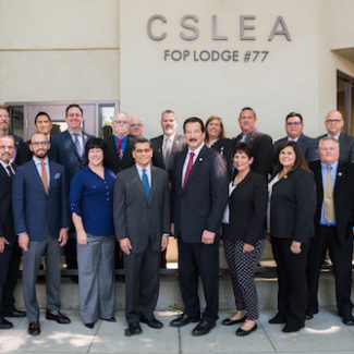 "Attorney General Xavier Becerra Special Guest at CSLEA Board Meeting ""Working together, we get things done. If there are ways I can be supportive, sign me up."" – California Attorney General Xavier Becerra"