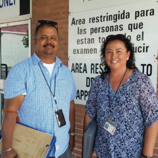 CSLEA Visits LREs at Four DMV Offices in Southern California