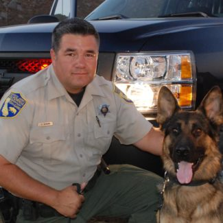 CSLEA Saddened by the Death of K-9 Reno Our thoughts are with  Lt. McNair and his family