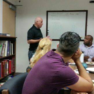 CSLEA & AC-DOJ Visit Criminalists at Santa  Barbara Regional Lab