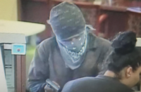 California DOJ Criminalists Identify Armed Bank Robbery Suspect