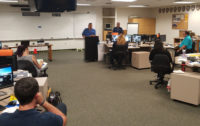 CSLEA  & CHP-PSDA Welcome Seven New Dispatchers