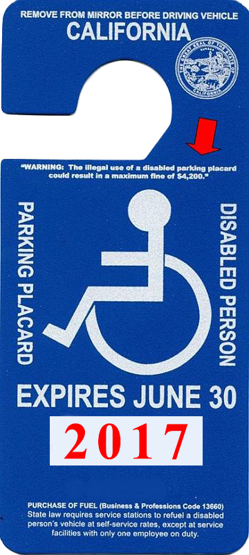 September: DMV Investigators Catch 491 People Misusing Disabled Parking Placards