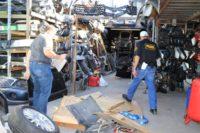 DMV Investigators Target Unlicensed Vehicle Dismantlers In LA