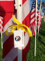 CACI Sponsors Flag at Event Honoring Veterans
