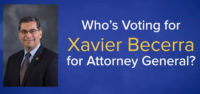 AC-DOJ President Participates in Xavier Becerra for Attorney General Endorsement Video