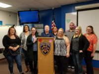CSLEA and CHP-PSDA Meet with New Dispatchers in Riverside