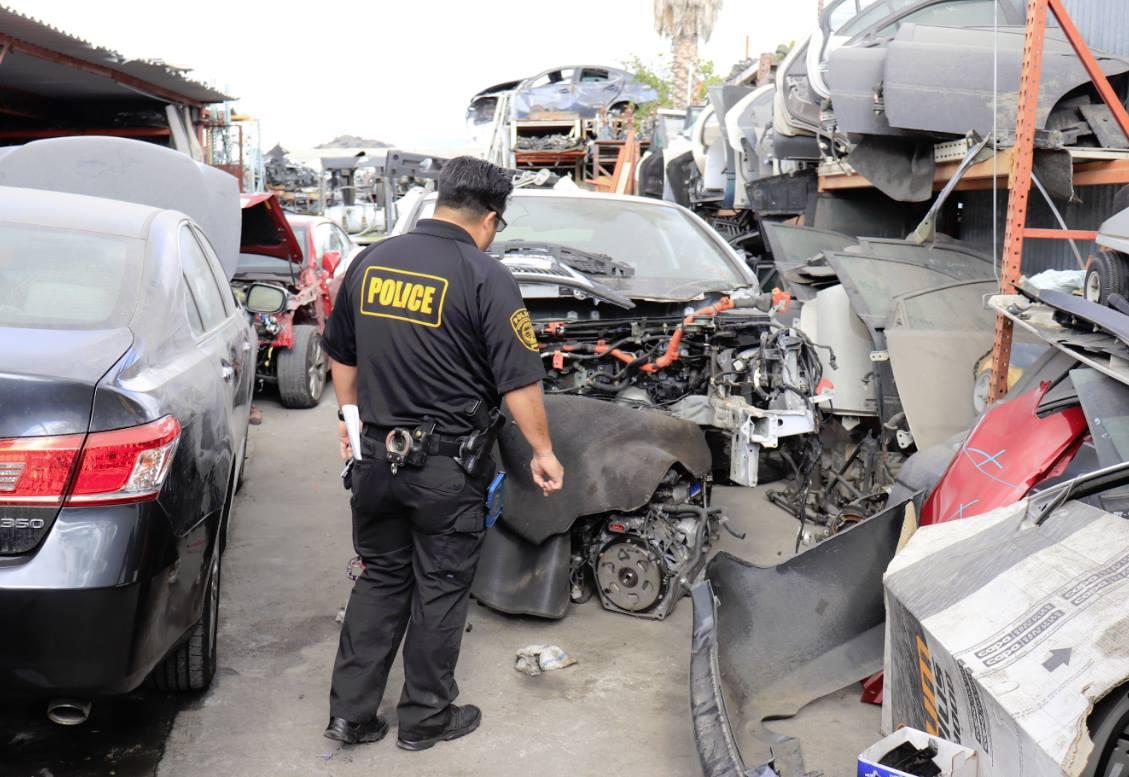 dmv investigators target unlicensed vehicle dismantlers in la county california statewide law. Black Bedroom Furniture Sets. Home Design Ideas