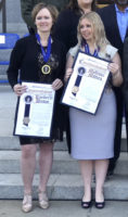 CHP Dispatchers Kimberly Brown & Mellisa Mitrea Receive Heroes Award