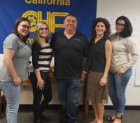 CHP-PSDA VP Greets New CHP Dispatchers in West Sacramento