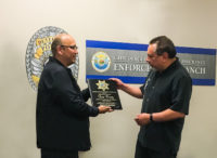 Congratulations to CSLEA-CACI Member Tom Perez on Retirement