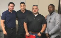 CSLEA Meets New Police Officers at Coalinga State Hospital