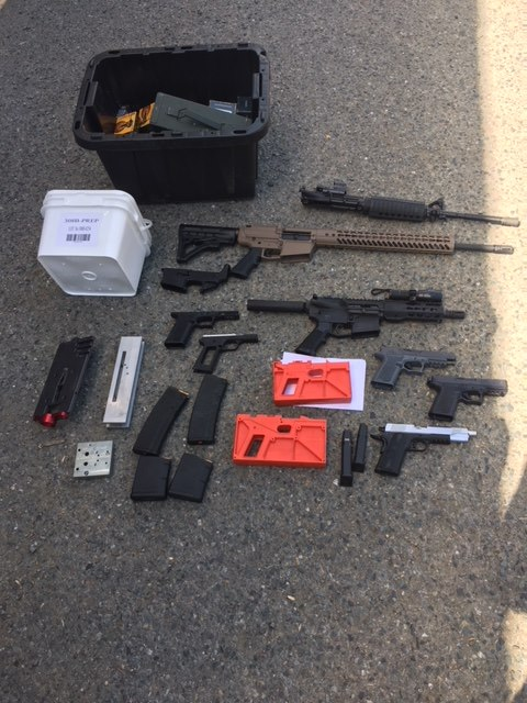 Contra Costa County Man Arrested on Weapons Charges