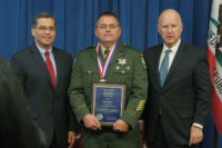 Five Law Enforcement Officers Receive Governor's Medal of Valor Awards