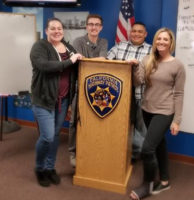 CHP-PSDA Director Meets with New Dispatchers in Riverside