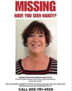 Suspect Arrested in SLO County Missing Person Case