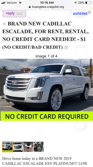 Los Angeles Craigslist Cars >> Two Men Charged In High End Automobile Sublease Scam California