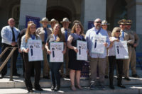 Five CSLEA/CHP-PSDA Members Honored at State Capitol